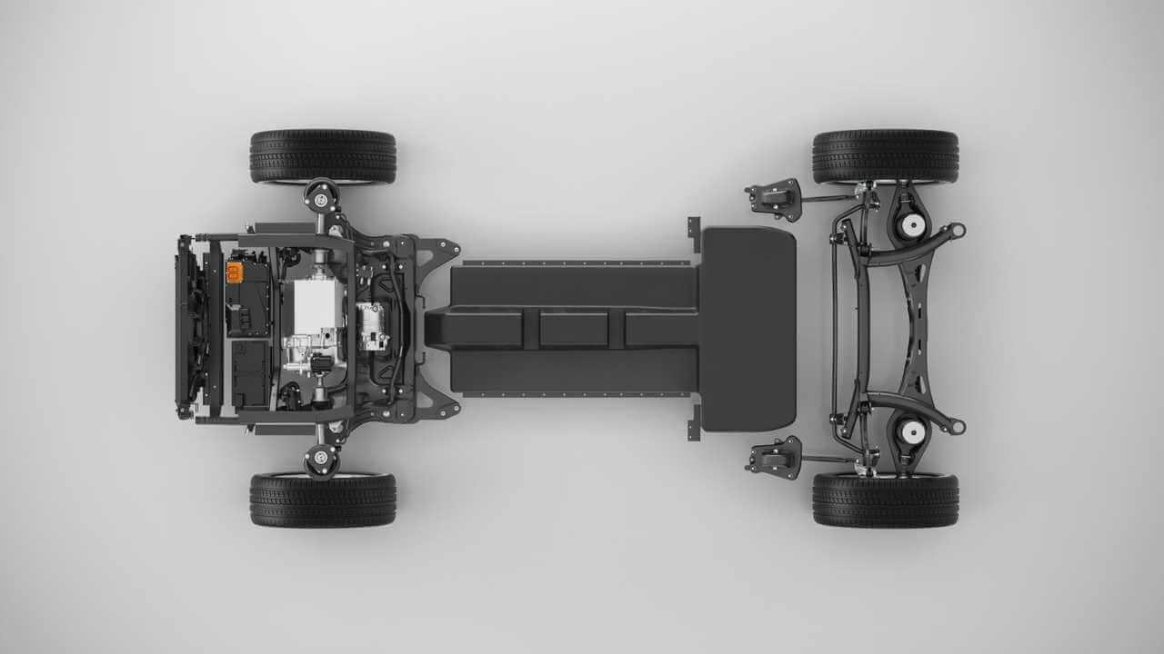 Модульная платформа Volvo CMA