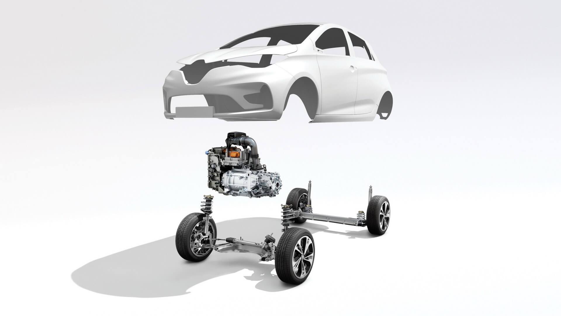 Трансмиссия Renault ZOE