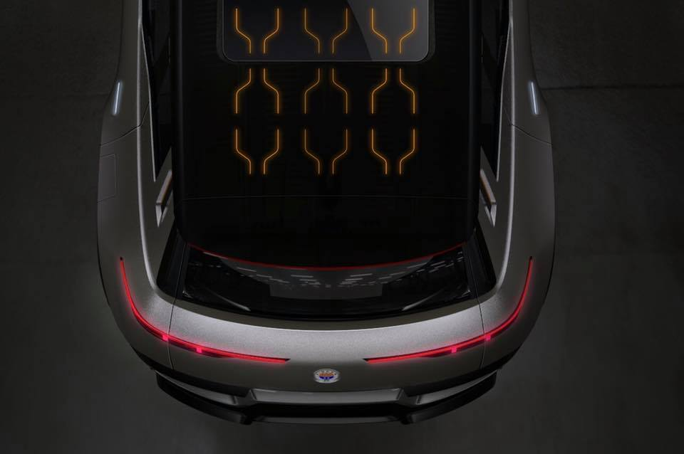 Новый электромобиль Fisker получит крышу с солнечными панелями