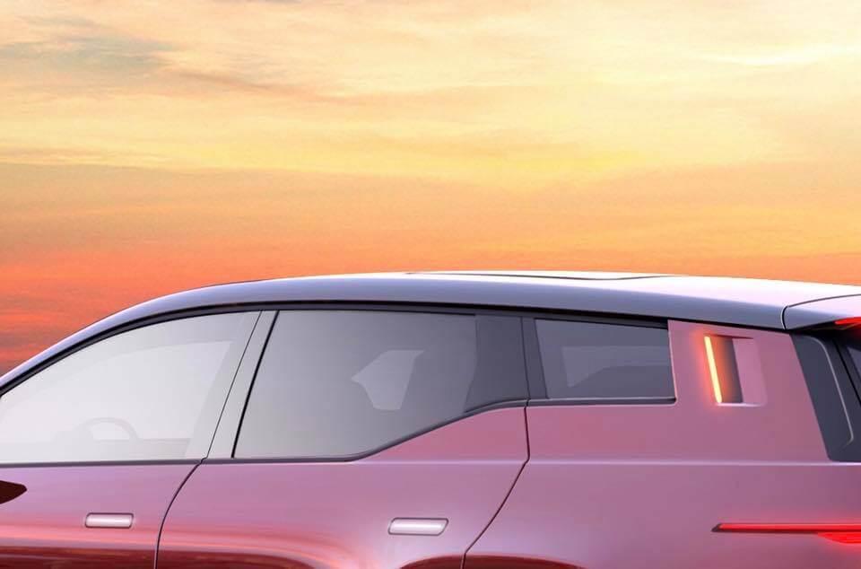 Новый электрокар Fisker получит поворотники в задних боковых стойках