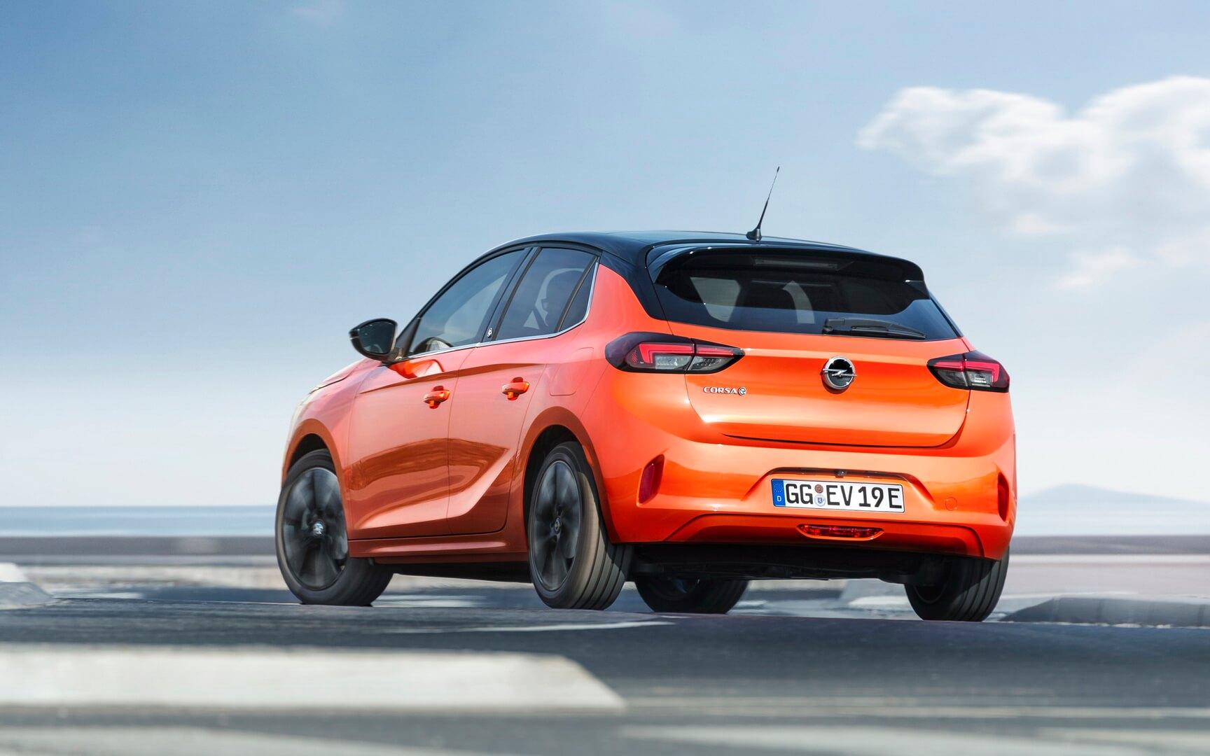 Электрический хэтчбек Opel Corsa-e