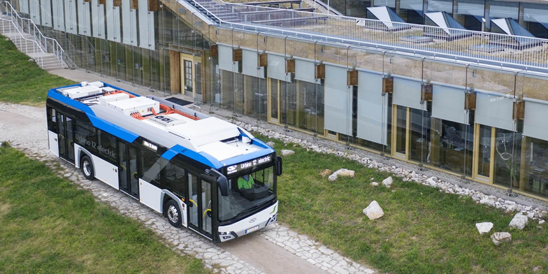 Электрический автобус Solaris Urbino 12 Electric © electrive.com