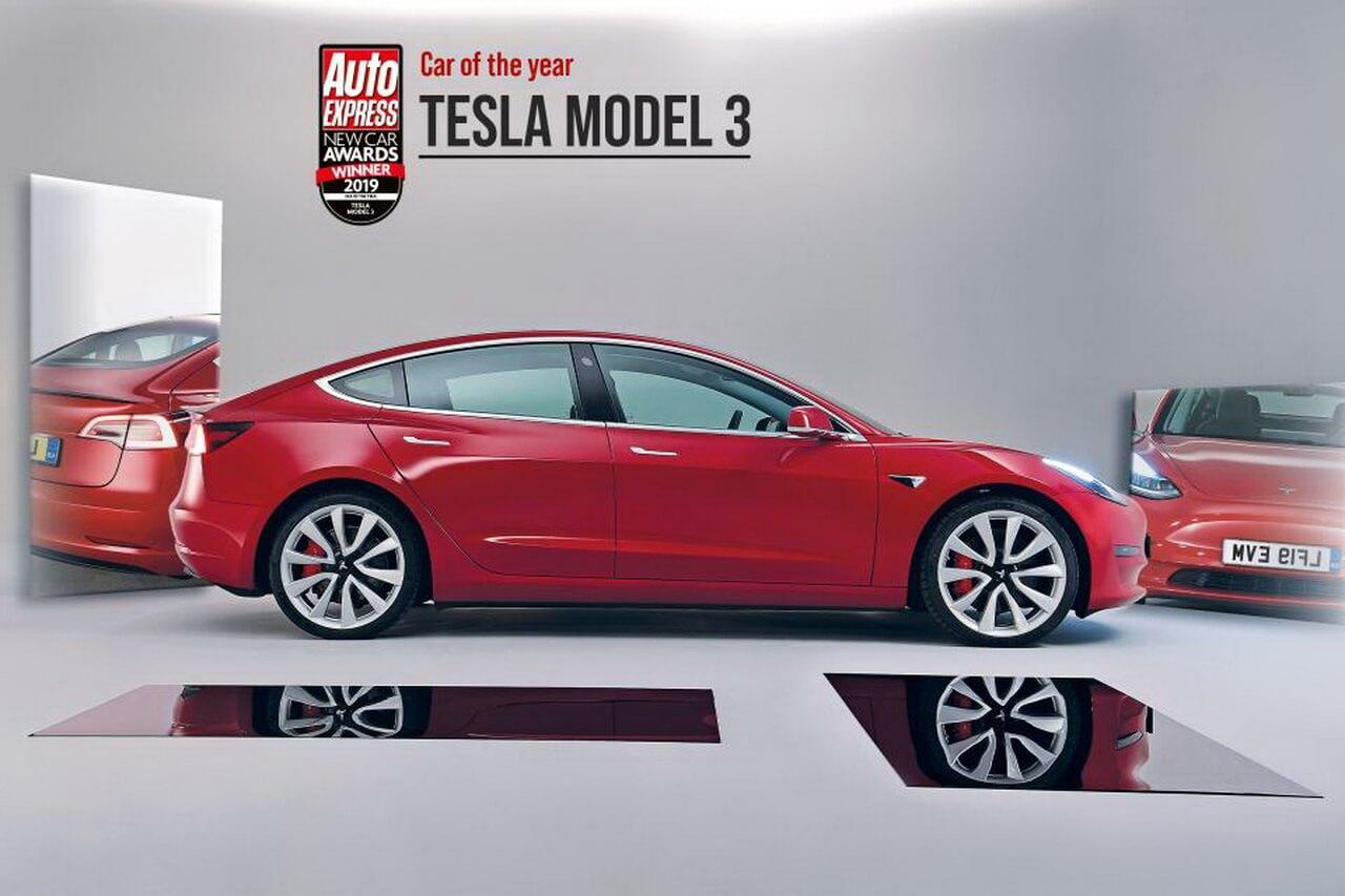 «Car of the Year 2019»: Auto Express вручил Tesla Model 3 высшую награду