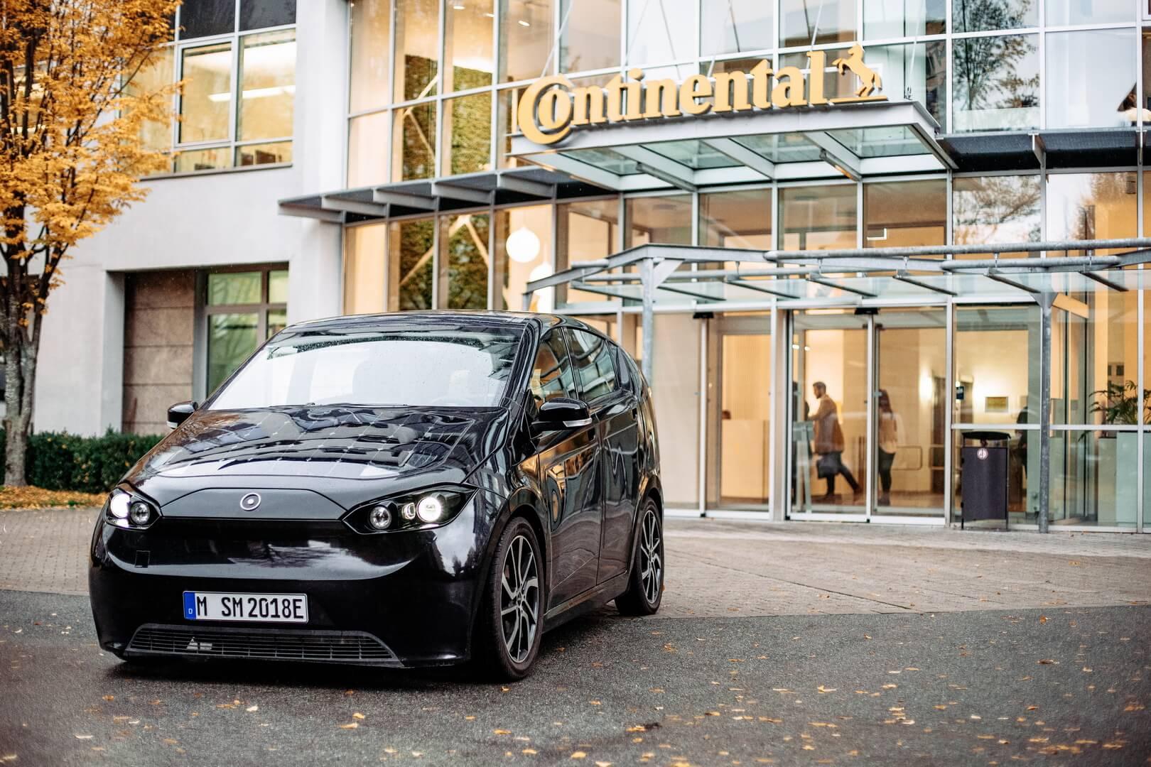 Электромобиль Sion будет использовать третье поколение электропривода от Continental