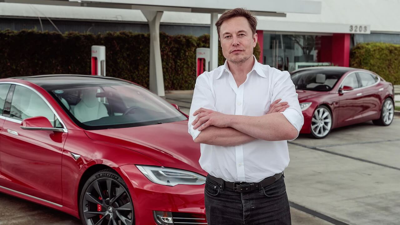 CEO Tesla Илон Маск
