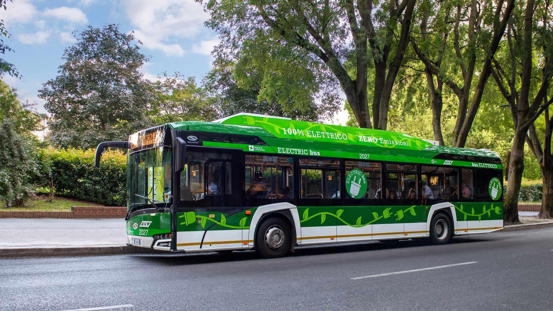 Solaris получил крупнейший заказ на электрические автобусы в Европе