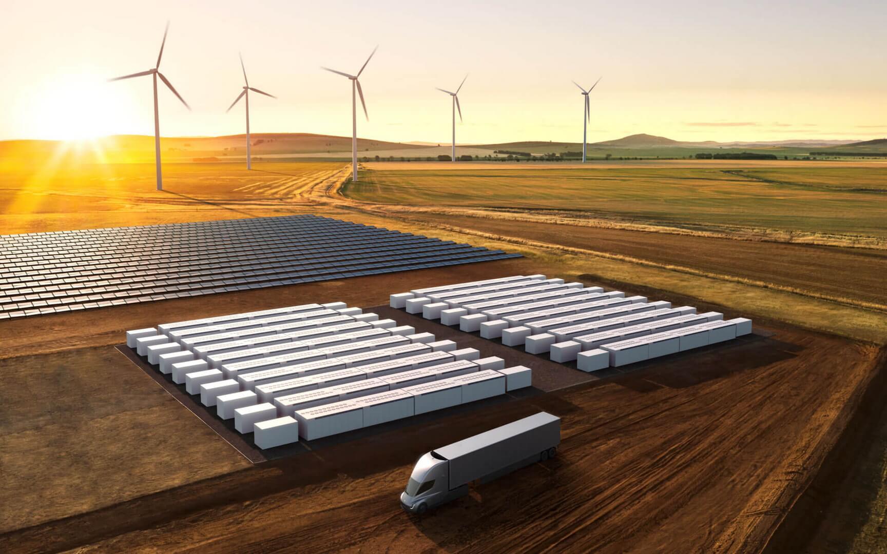 Tesla запустила продукт для хранения энергии Megapack