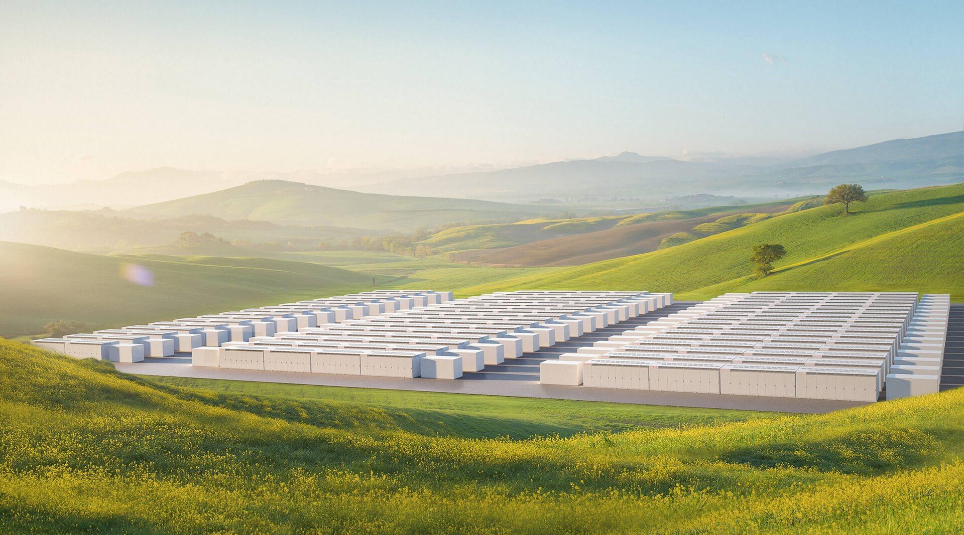 Системы хранения энергии Tesla Megapack