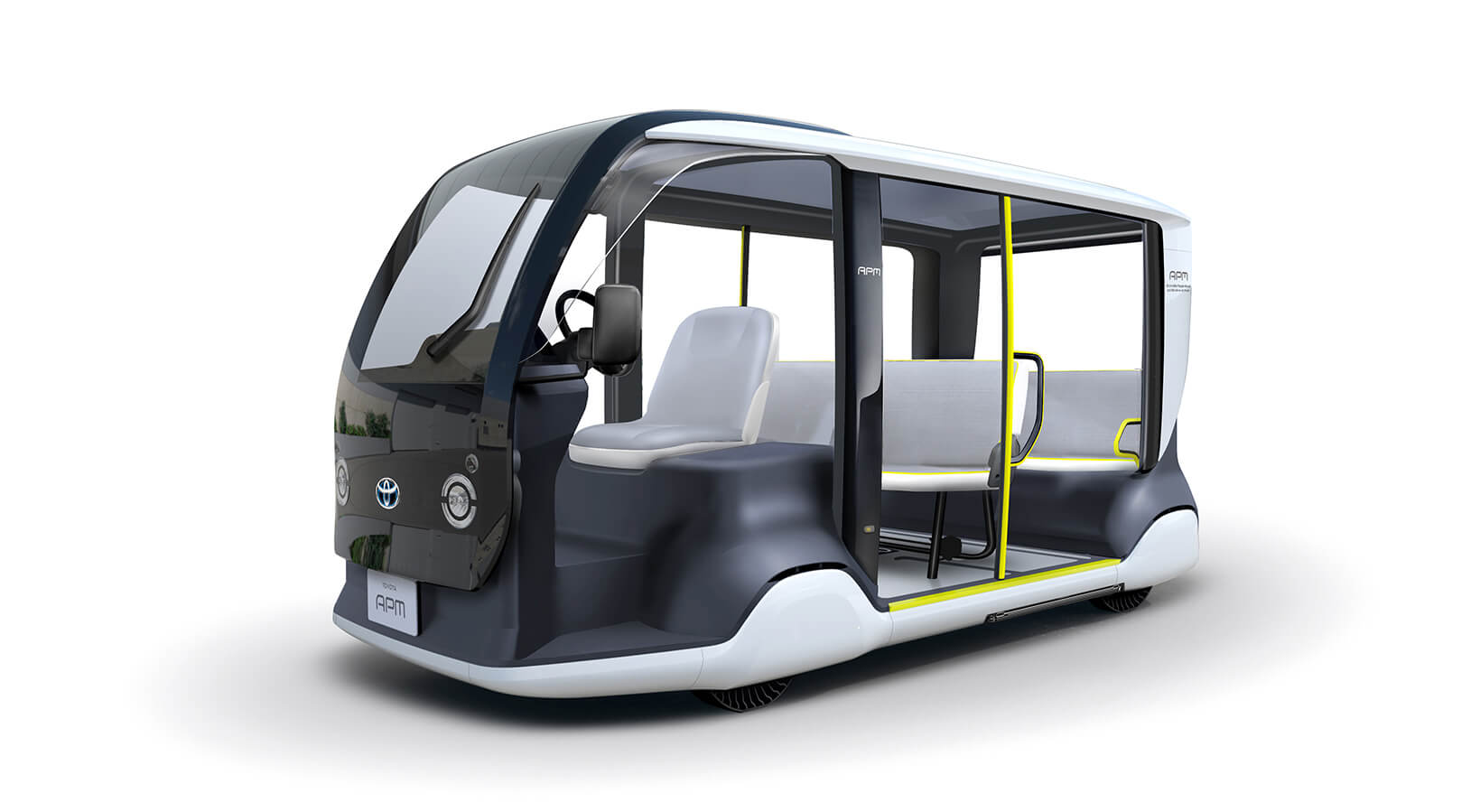 Toyota выпустит специальный электромобиль APM для Олимпийский игр