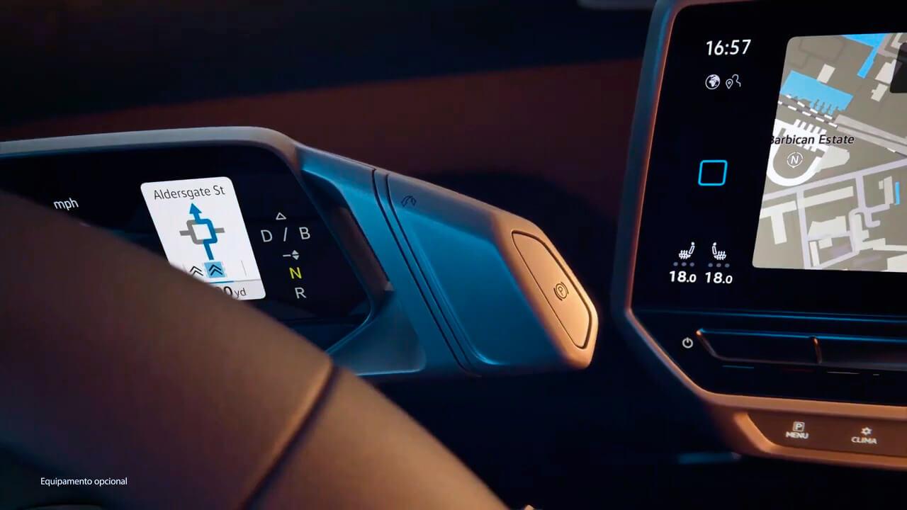 Элементы управления Volkswagen ID.3