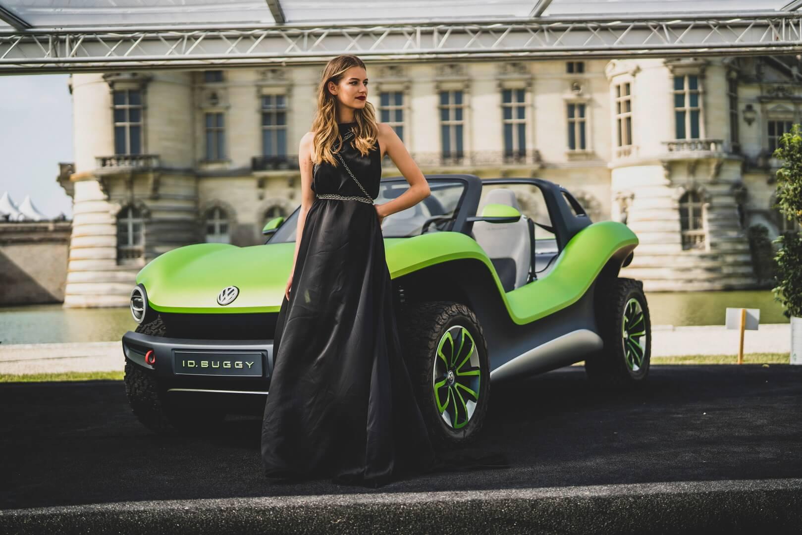 Volkswagen ID. Buggy получил зрительские симпатии наConcours d'Elegance