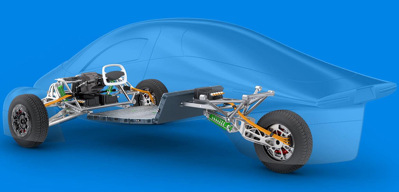 Трехколесный Aptera: самый энергоффективный электромобиль в мире