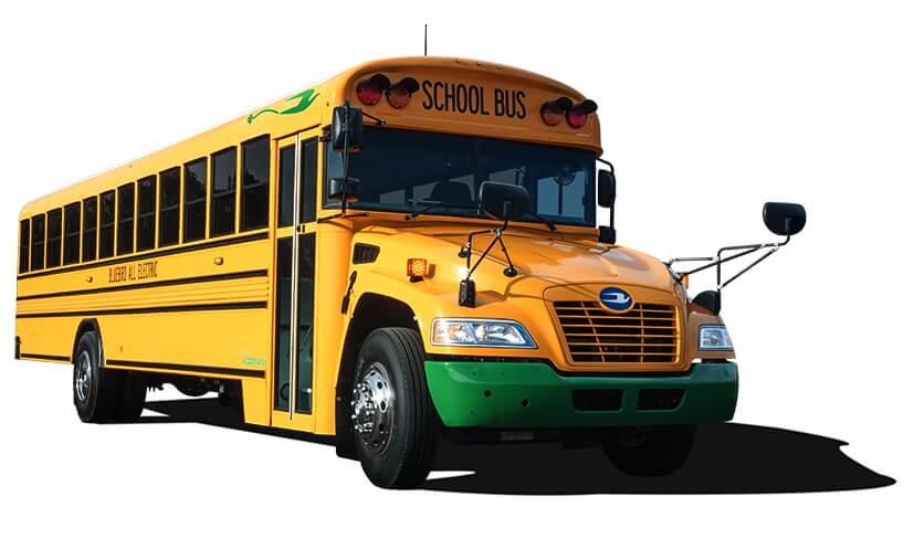 Электрический школьный автобус Vision Electric
