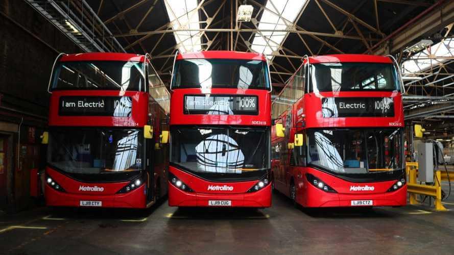 Двухэтажные электрические автобусы BYD Enviro 400EV