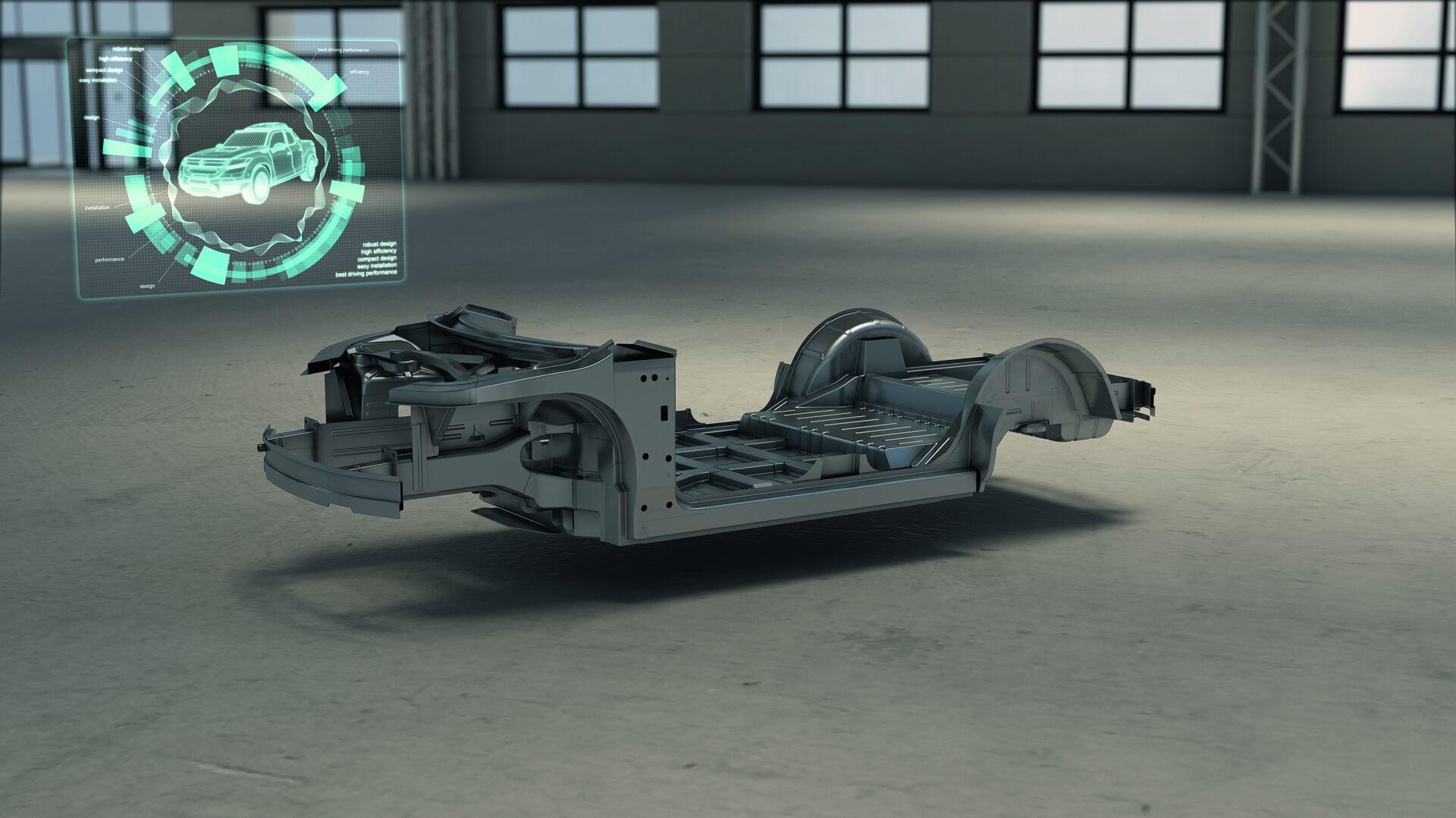 EDAG разработала универсальную платформу для сборки электромобилей
