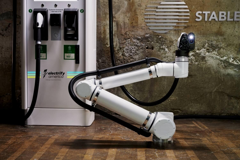 StableAuto сотрудничает с Electrify America для тестирования роботизированных станций быстрой зарядки электромобилей в Сан-Франциско