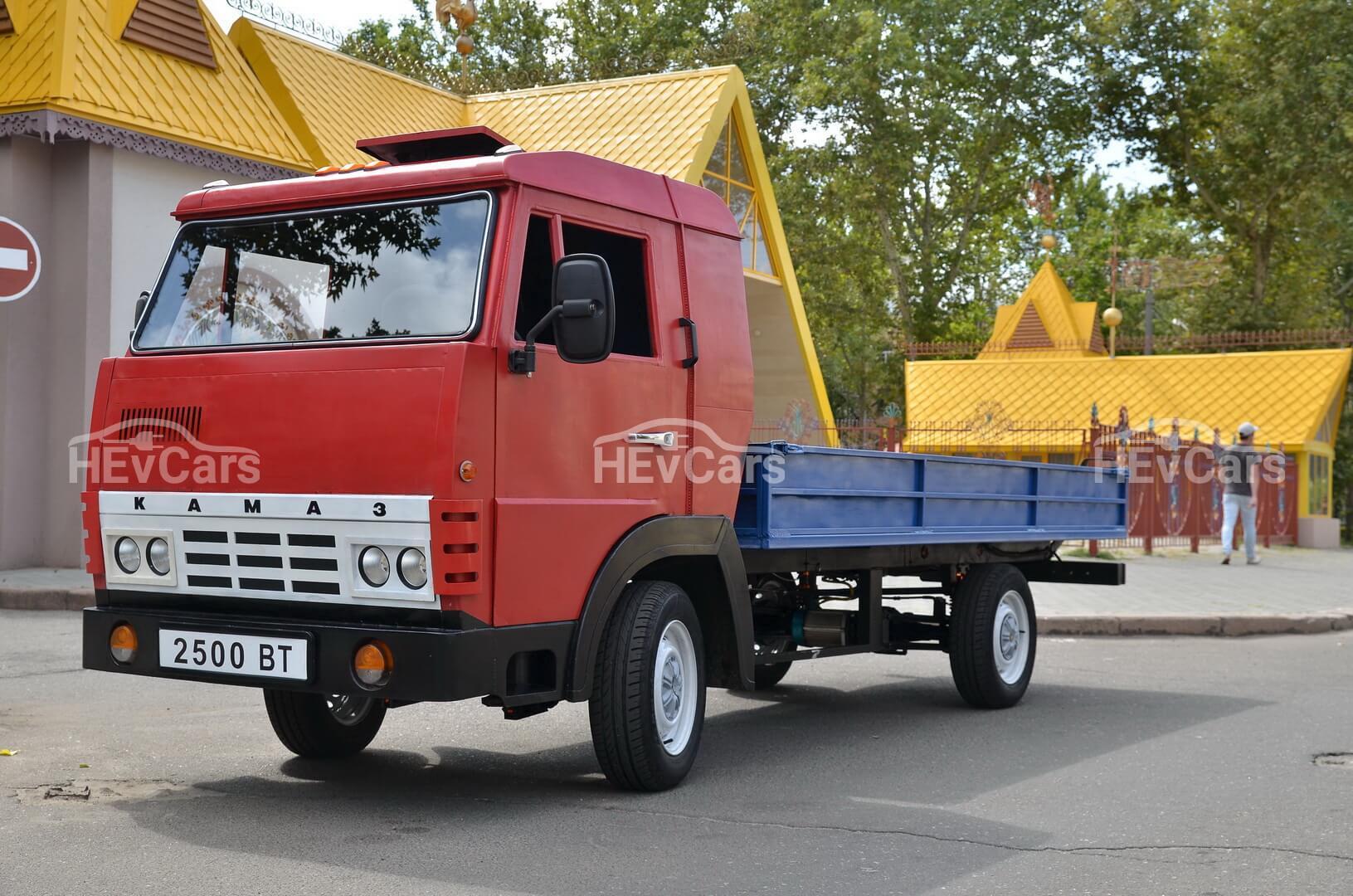 Электрический мини-КАМАЗ из Николаева с запасом хода от 60