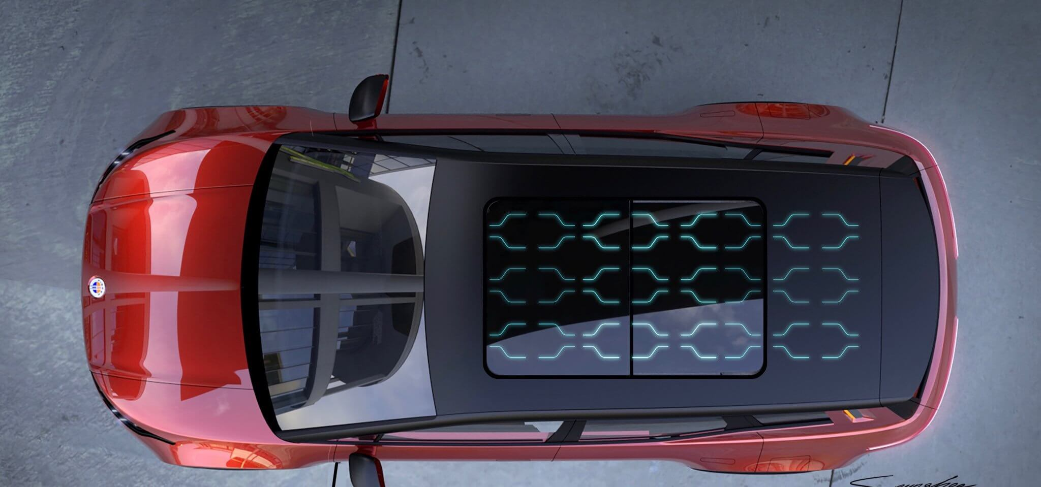 Электрический кроссовер Fisker получит крышу с солнечными панелями