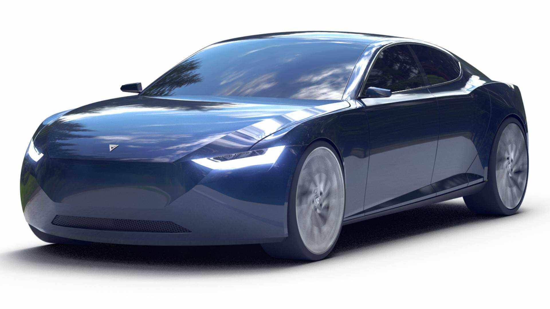 Электрический cедан FrescoReverie — ответ Норвегии навторжение электромобилей