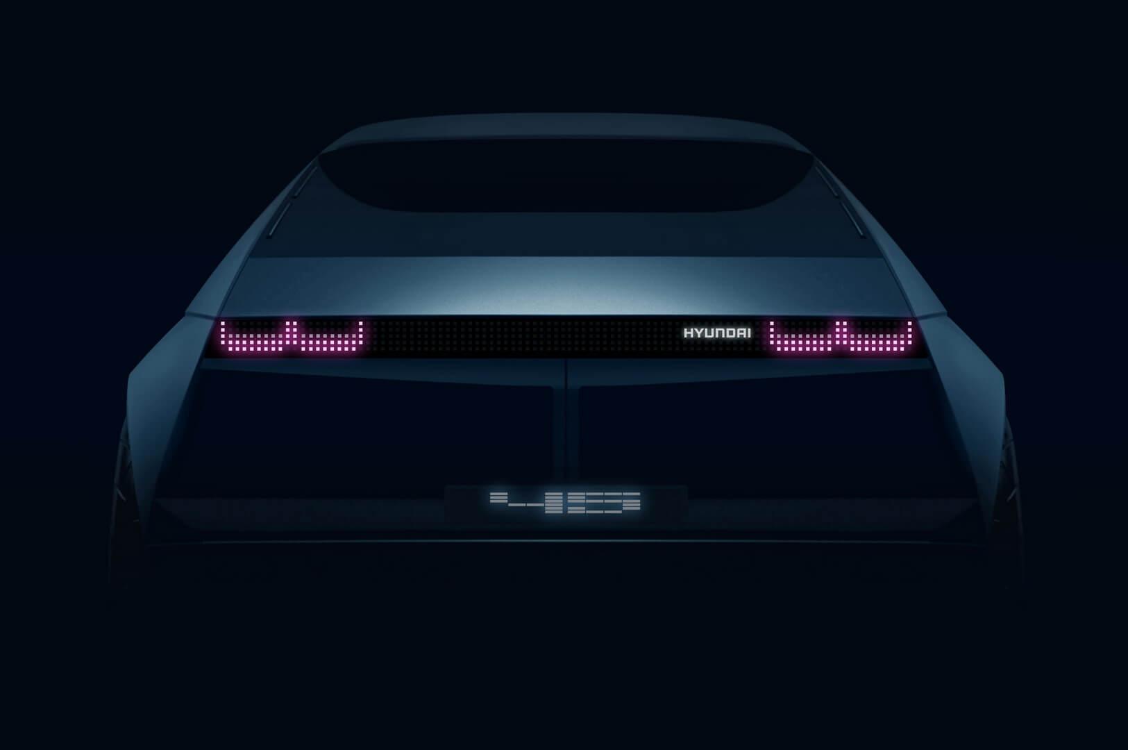 Hyundai представит концептуальный электромобиль «45» на Франкфуртском автосалоне 2019