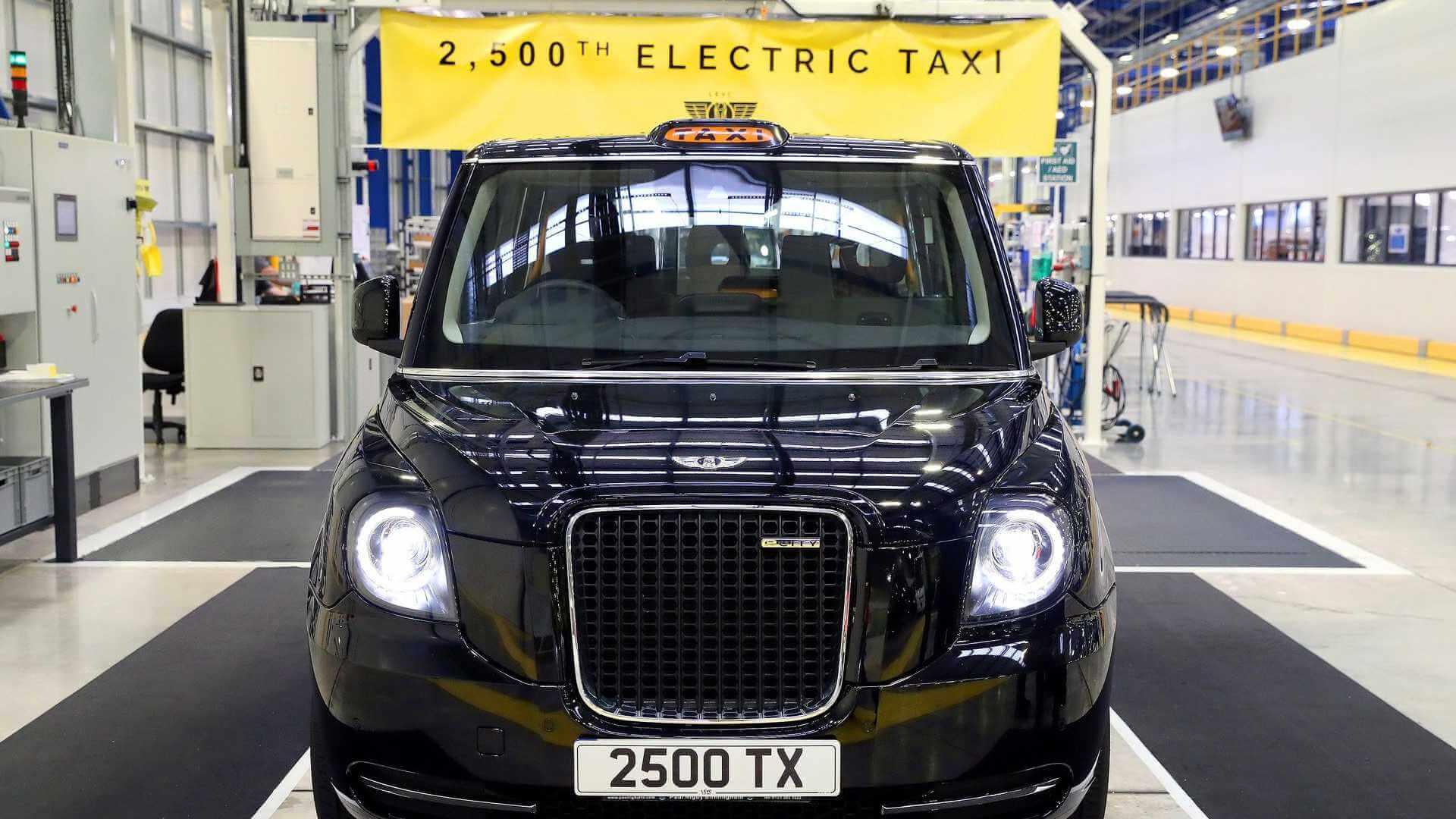 Более 80% LEVC TX было произведено для лондонских таксистов