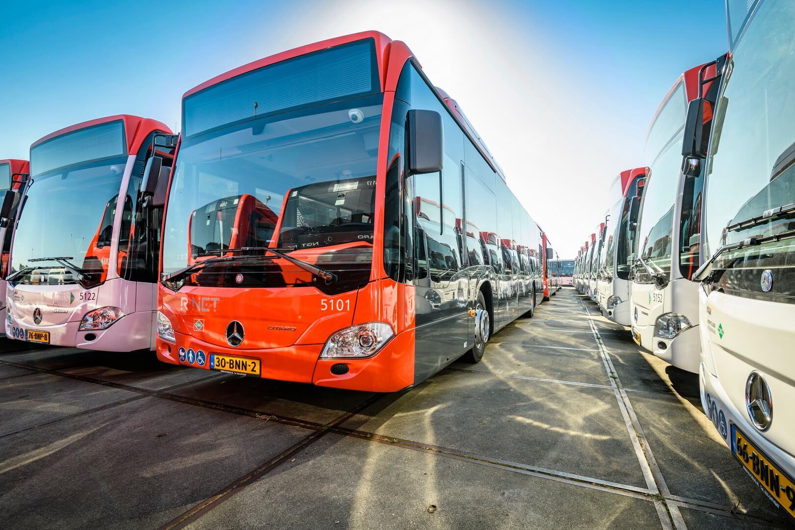 Mercedes-Benz поставляет 93 гибридных автобусов Citaro NGT в Нидерланды