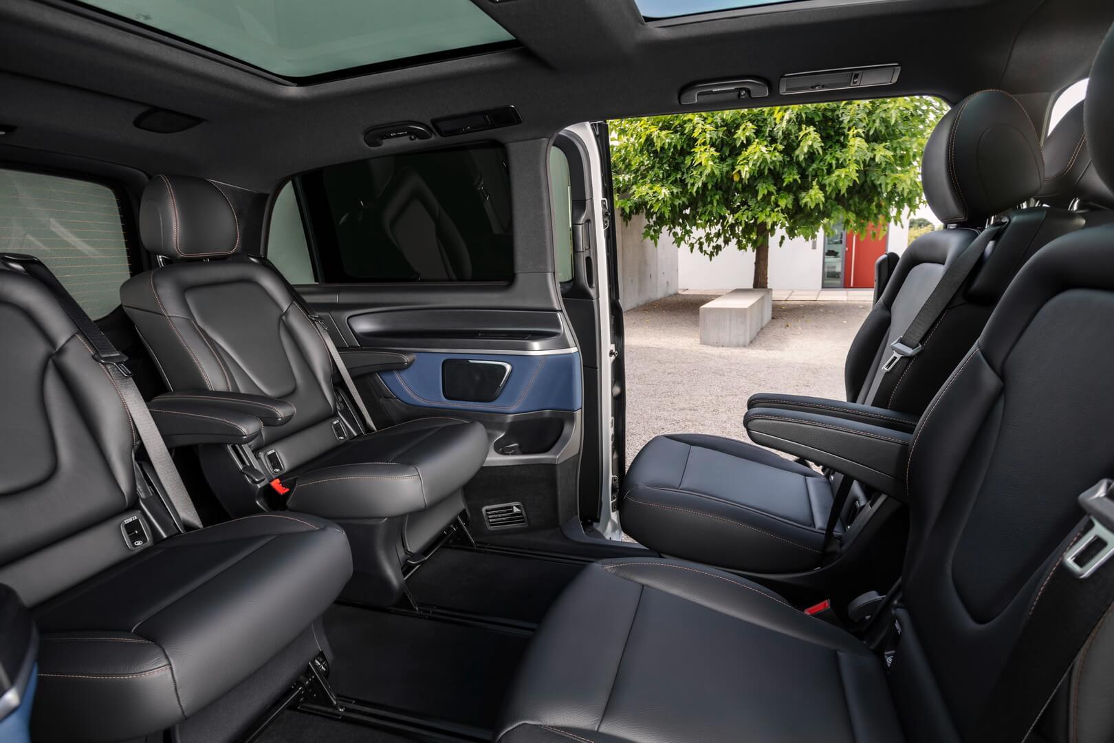 Трансформация салона Mercedes-Benz EQV