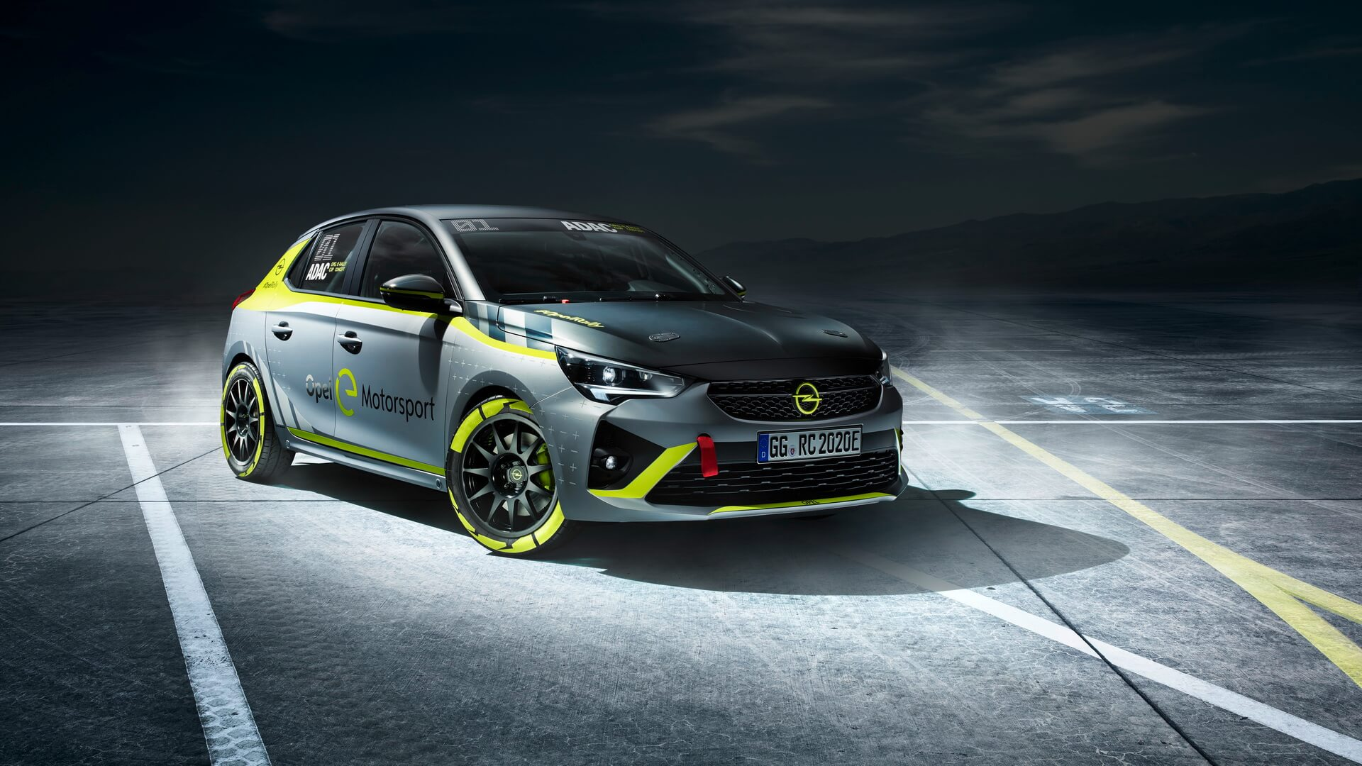 Opel представил первый электрический раллийный автомобиль на базе Corsa-e