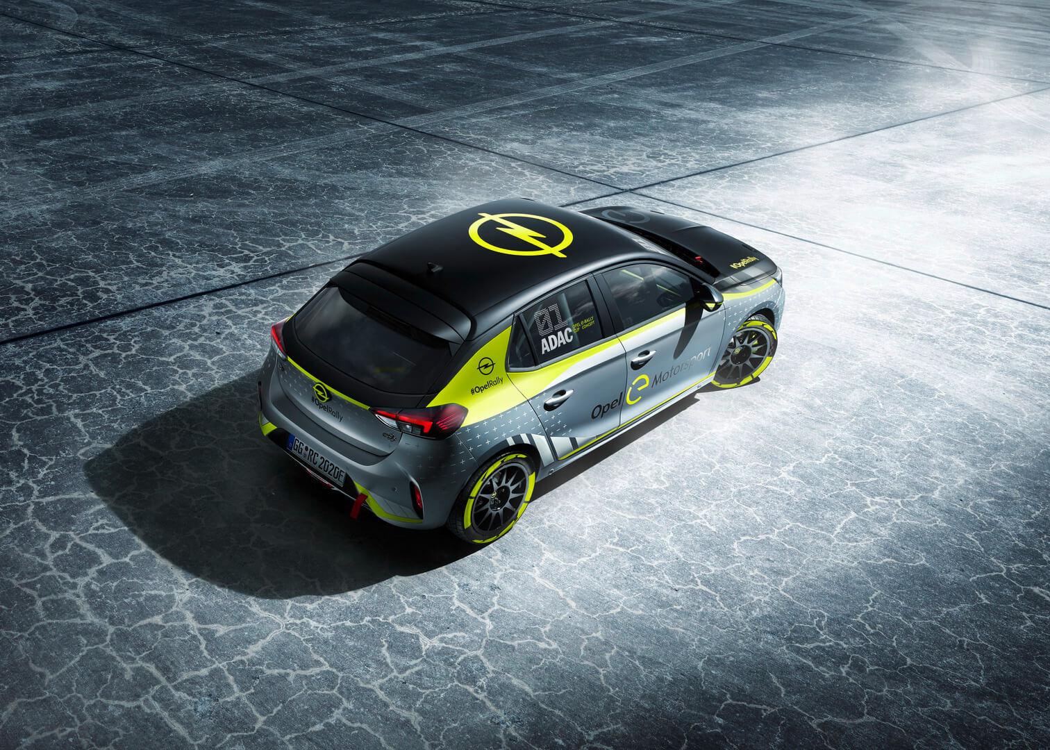 Раллийный электромобиль Opel Corsa-e