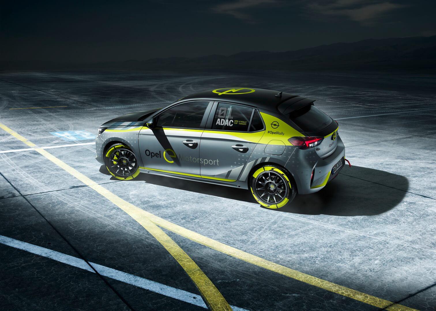 Электрический раллийный автомобиль на базе Corsa-e