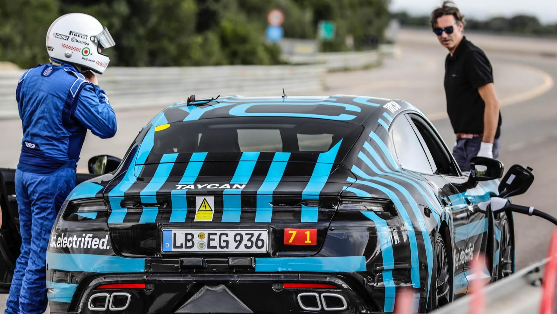 Porsche Taycan проехал 3425 км на высокой скорости в течение 24 часов