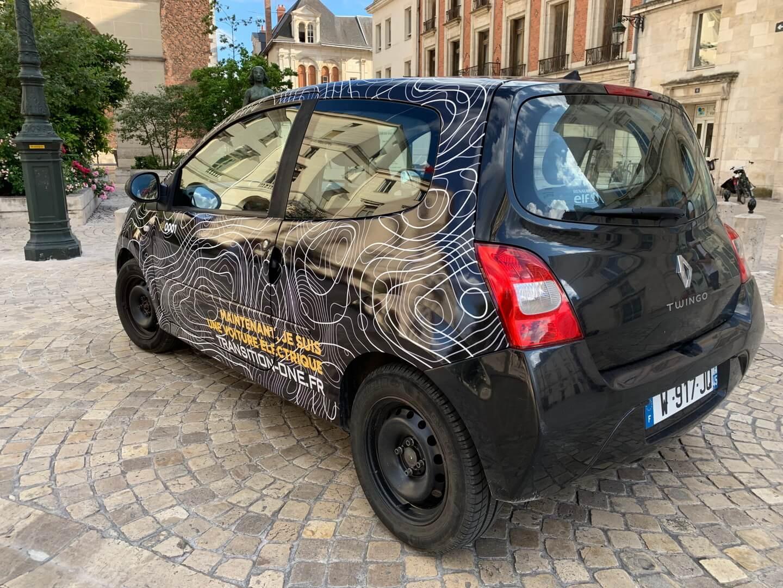 Переоборудованный в электромобиль Renault Twingo