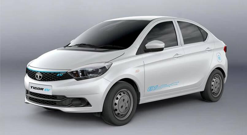 Электромобиль Tigor EV от Tata Motors для индийского рынка
