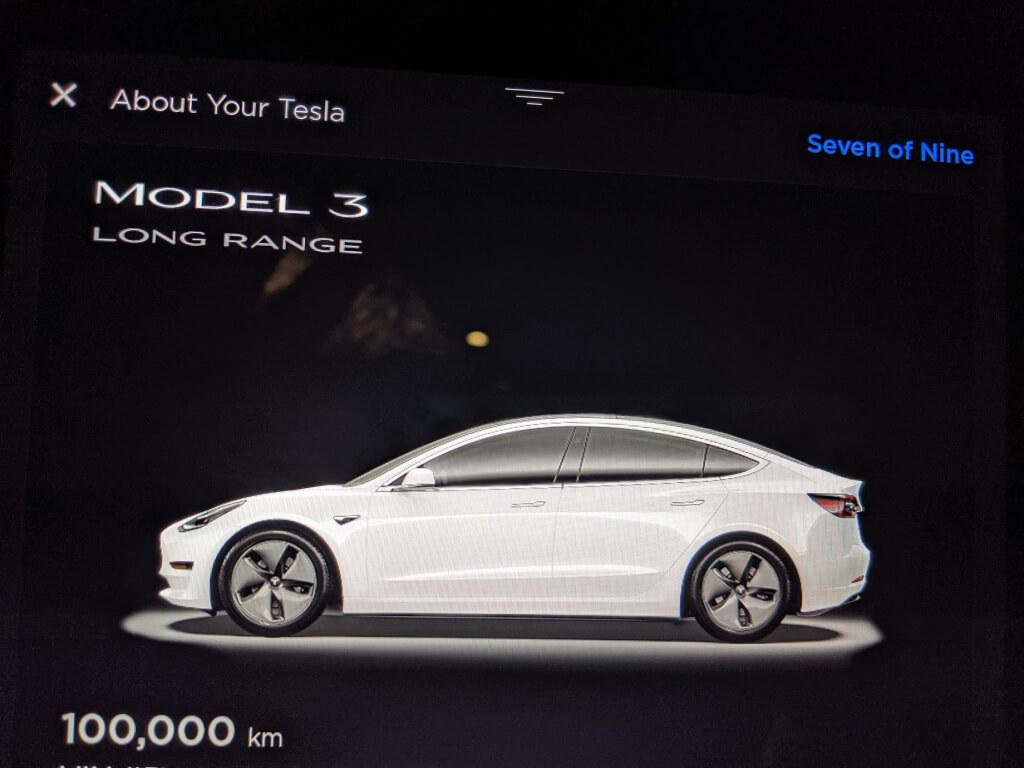 Tesla Model 3 с пробегом 100 000 км