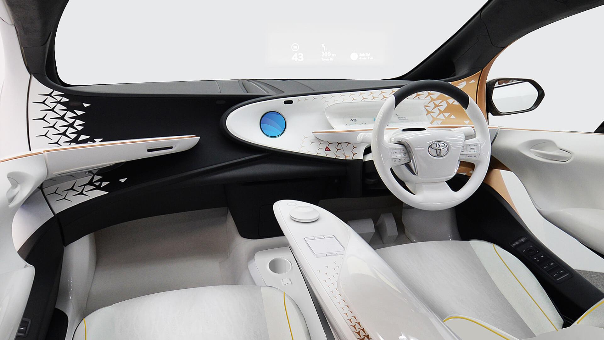 Интерьер салона Toyota Concept-i
