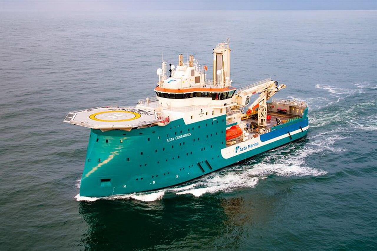 Wärtsilä переоборудует судно Acta Centaurus в гибридный корабль