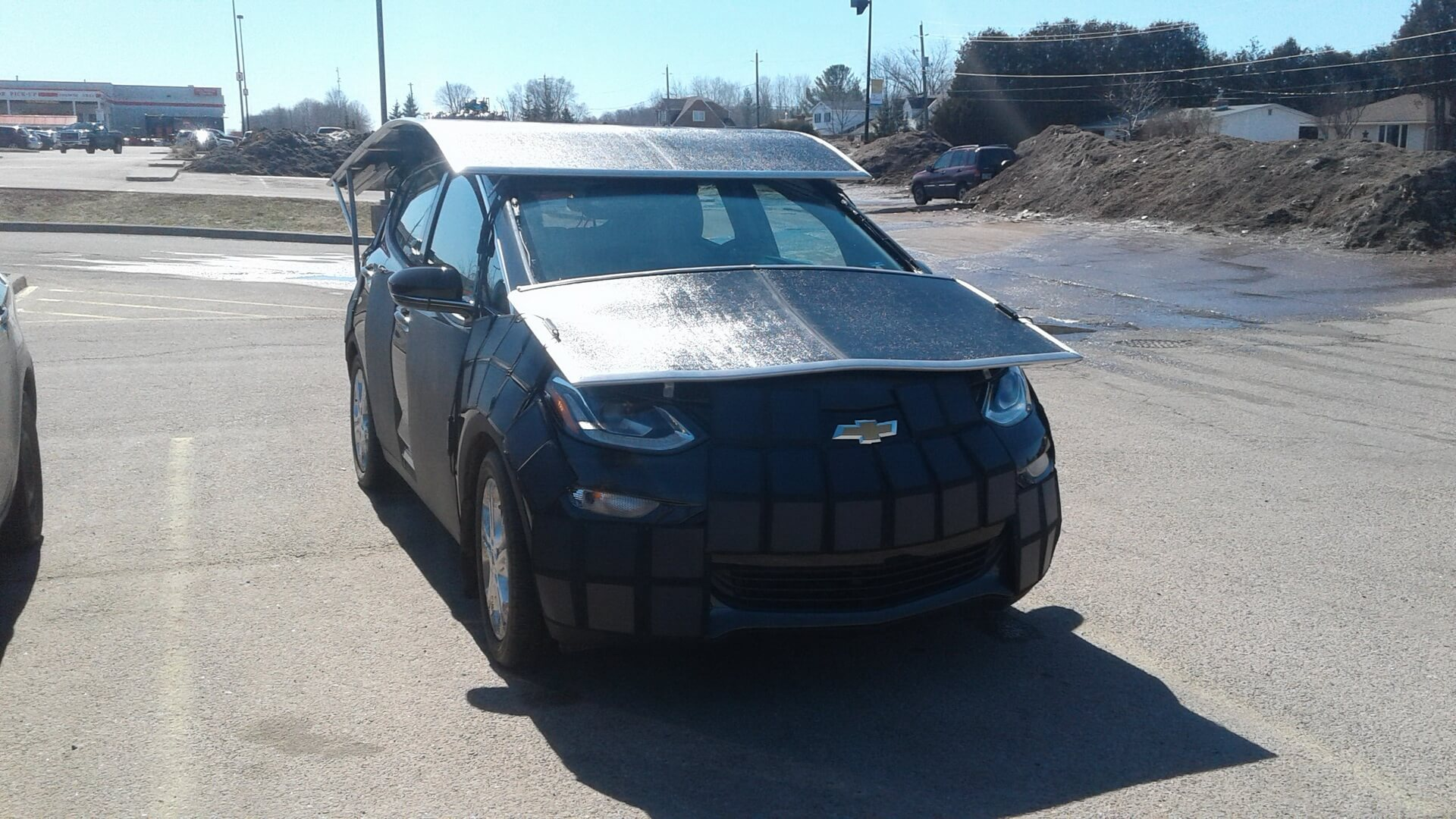 Chevrolet Bolt EV на солнечных панелях за $58 000