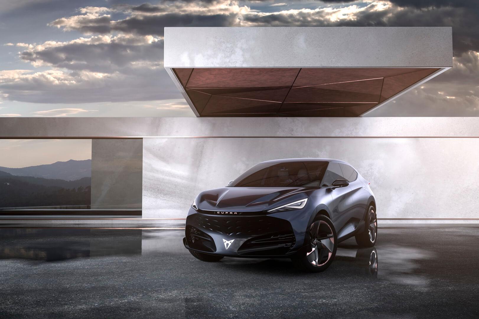 CUPRA представила электрический концепт внедорожника-купе Tavascan