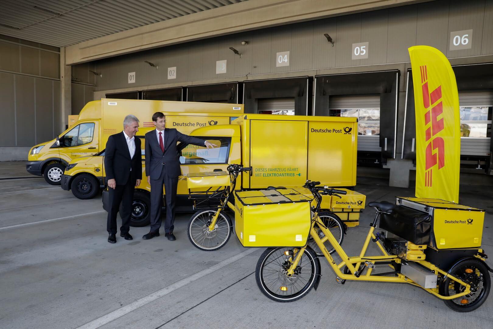 Электрифицированный транспорт DHL