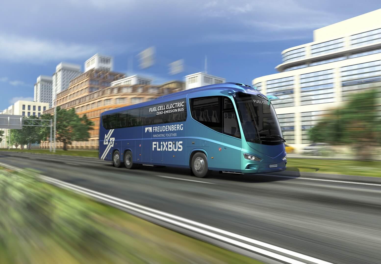 Крупнейший в Европе оператор междугородних автобусных перевозок FlixBus тестирует автобусы на топливных элементах