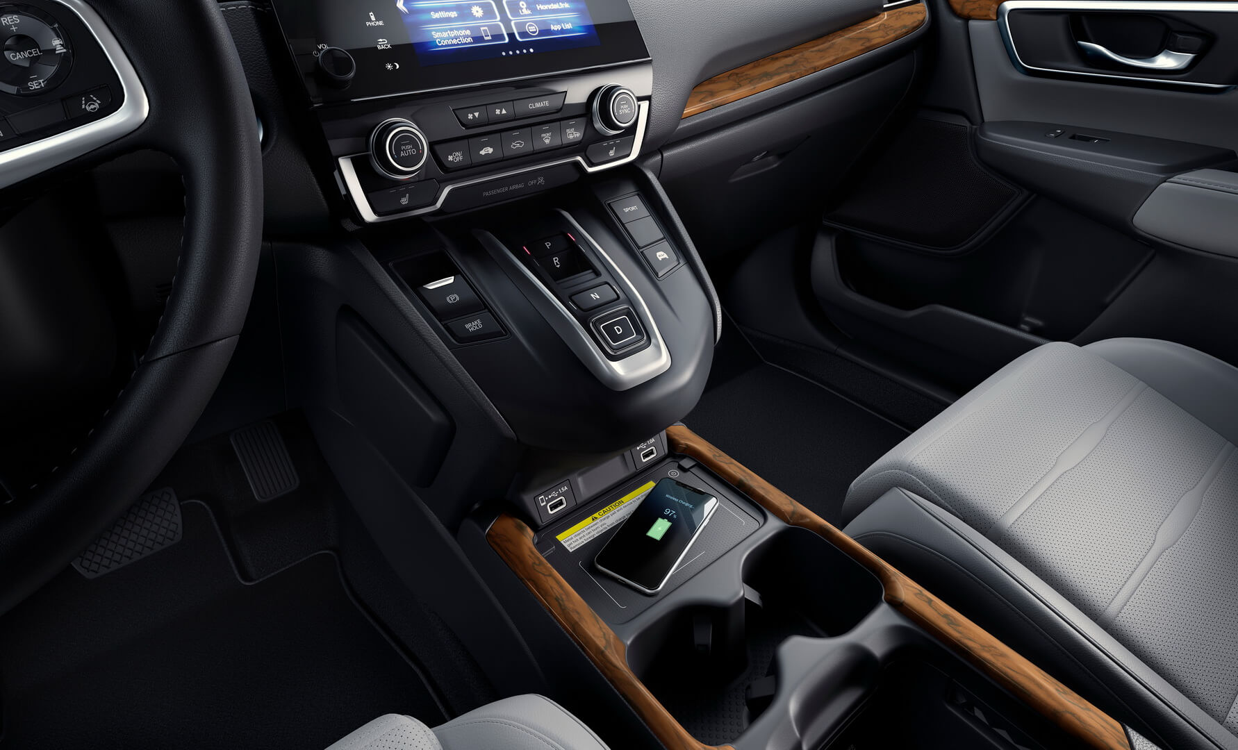 Honda CR-V 2020 салон