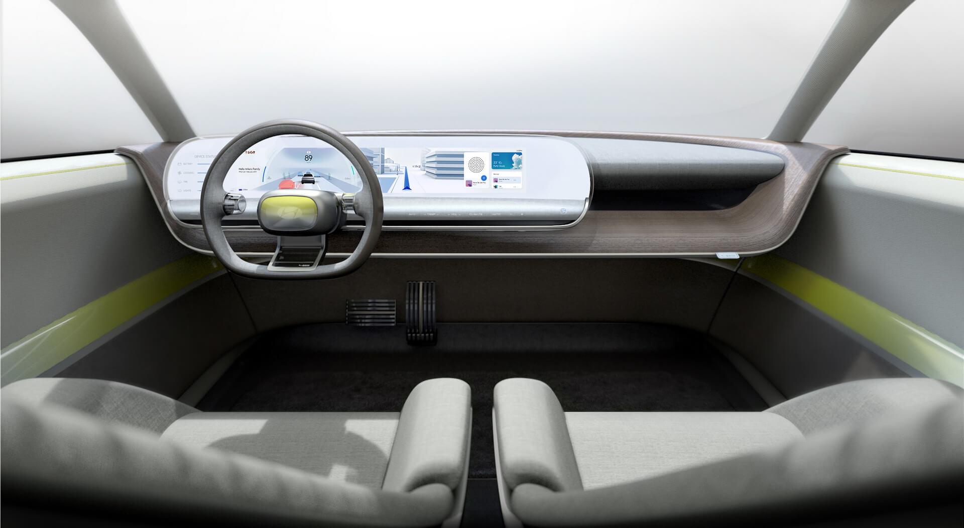 Интерьер Hyundai «45»