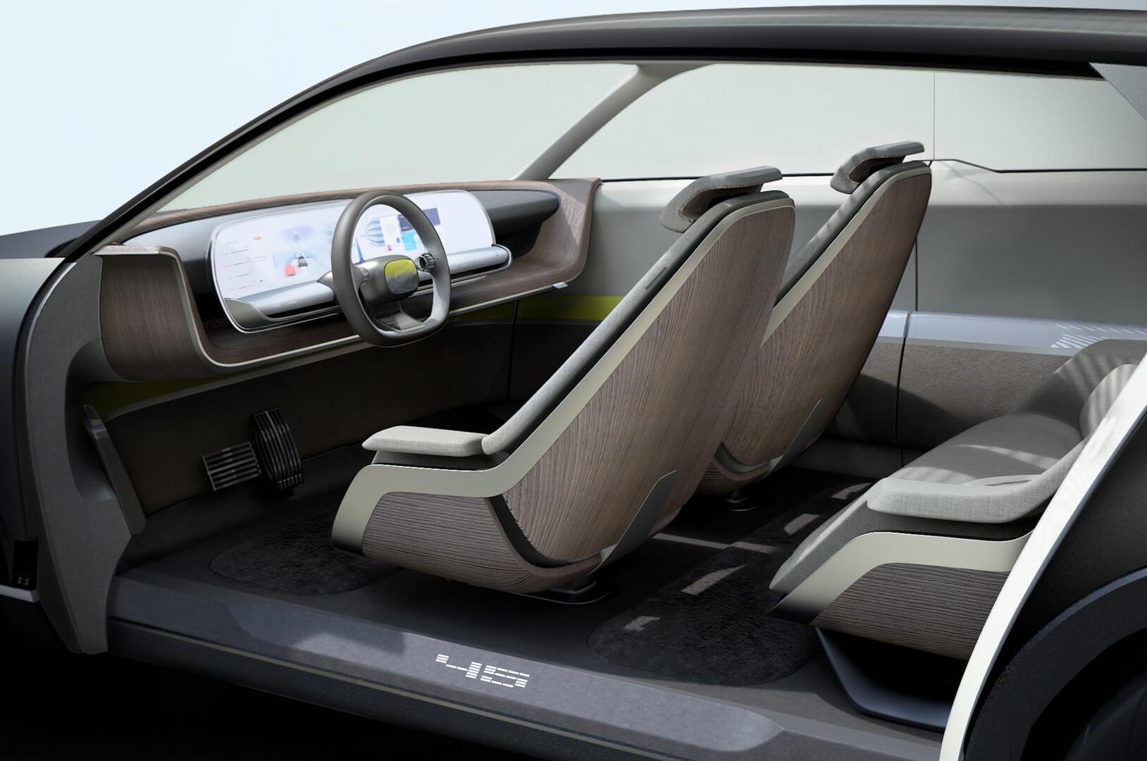 Салон электрического концепта Hyundai «45»