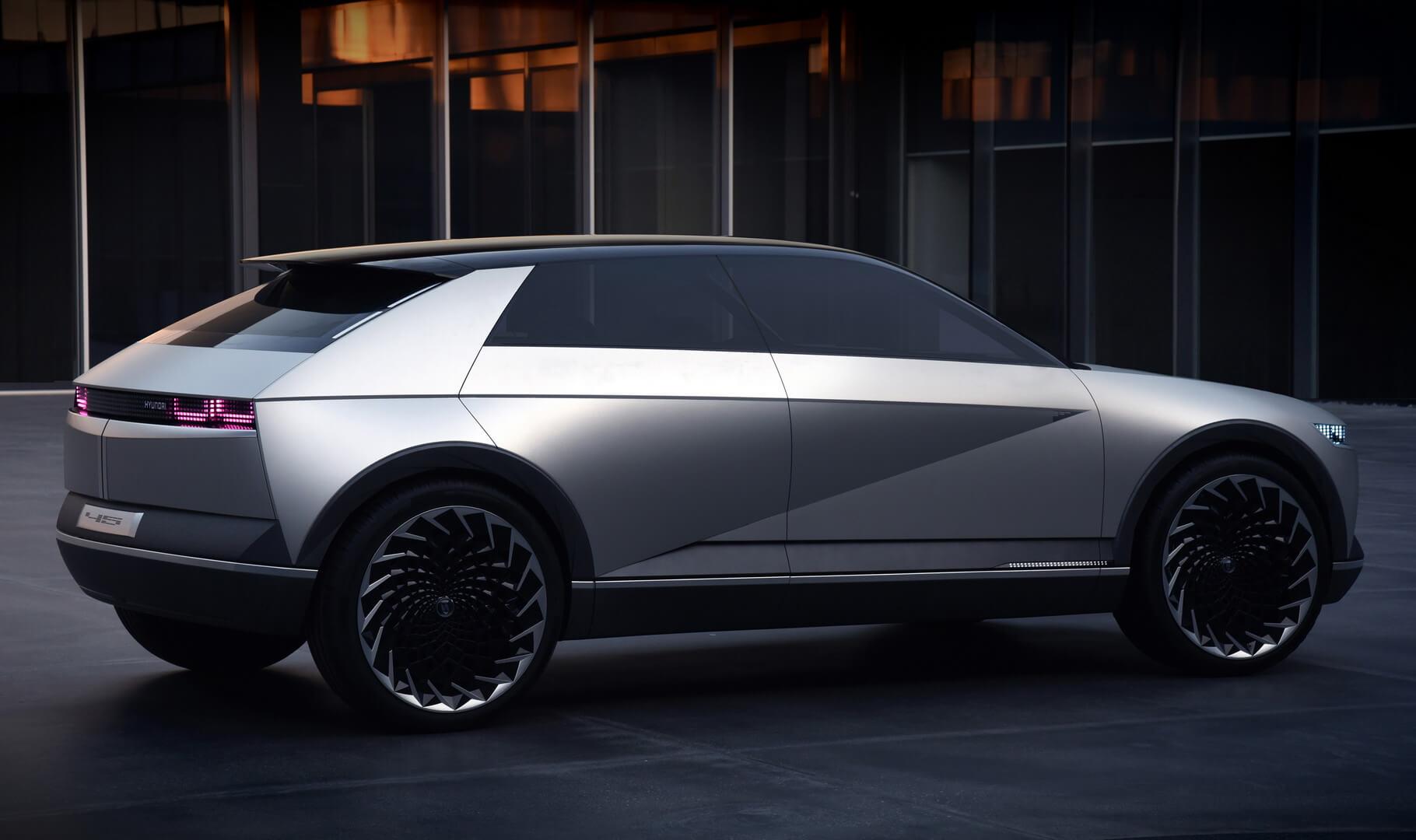 Электрический концепт Hyundai 45- новый образ электрокаров