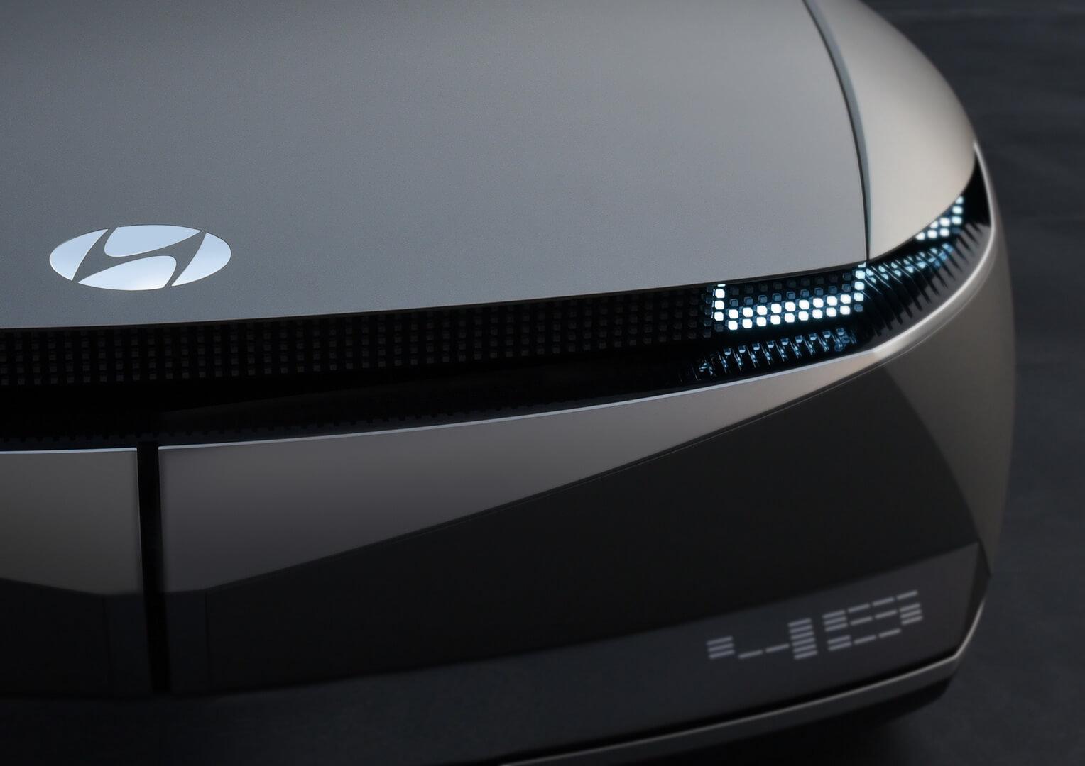 Название концептуальной модели Hyundai «45»