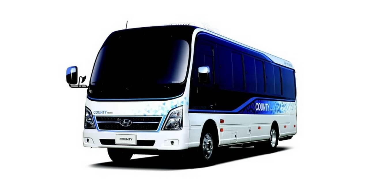 Электрический автобус Hyundai County EV