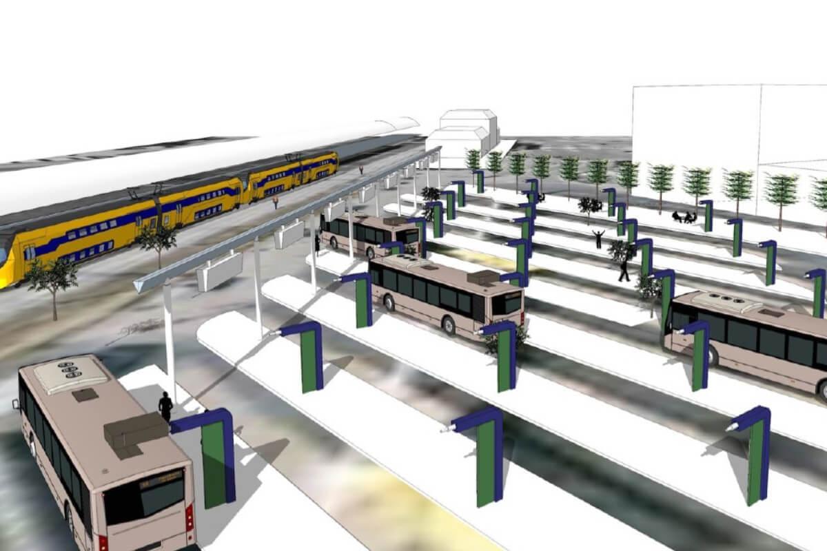 Электрические автобусы будут обслуживать 53 станции в восточных и центральных районах Нидерландов