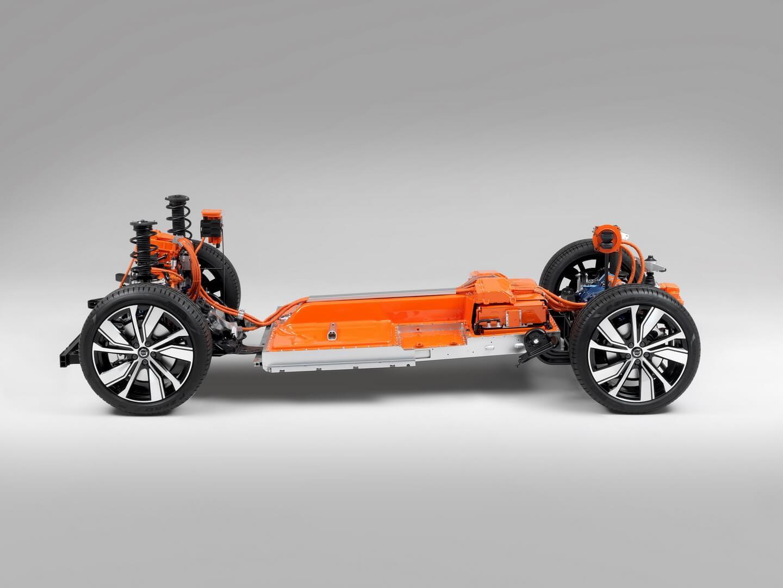 Электрическая платформа Volvo XC40