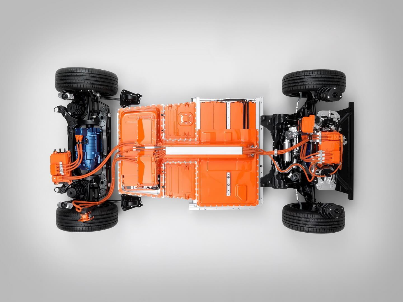 Силовая установка электрического Volvo XC40