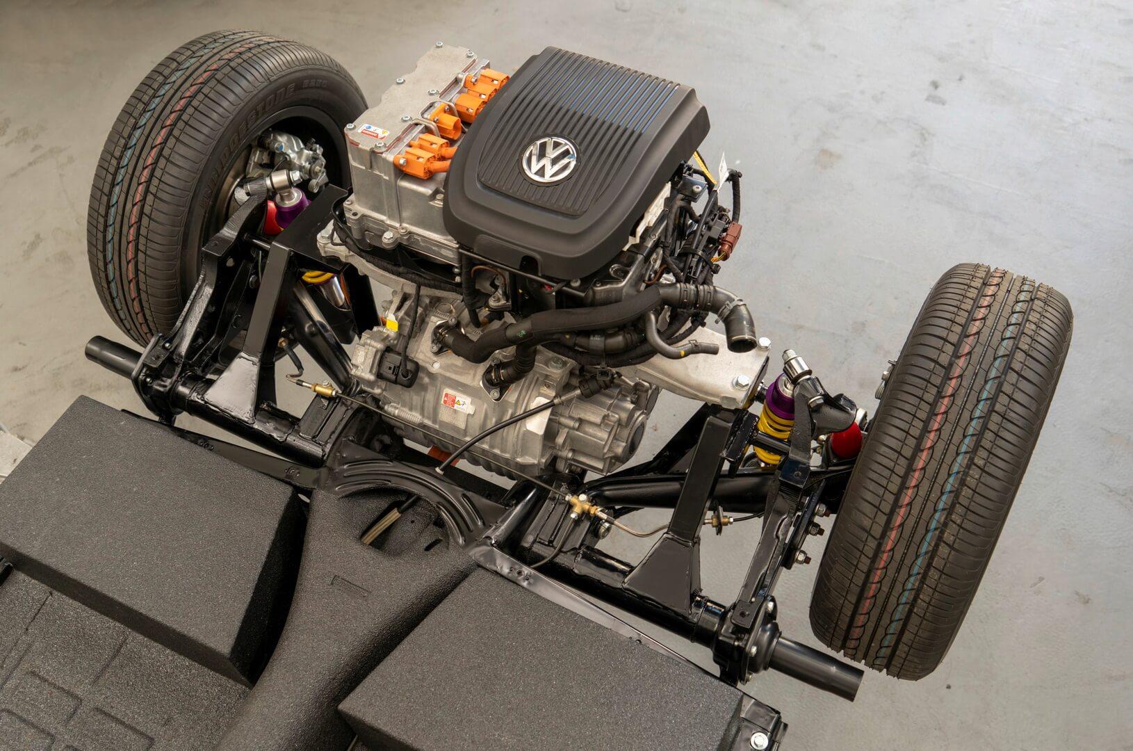 Электрическая трансмиссия Volkswagen Beetle от электромобиля VW e-Up!